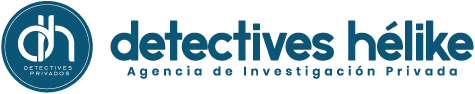 Logotipo Detectives Hélike. Agencia de Detectives Privados